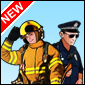 911 Rescue Team Gra - Car Games
