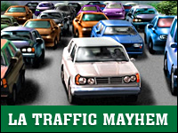 LA Traffic Mayhem Game - Car Games