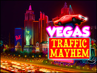 Vegas Traffic Mayhem Game - Car Games