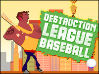 Destruction League Baseball Game - Sports Games