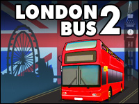 London Bus 2 Game - Car Games