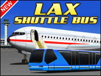 LAX Shuttle Bus Game - Car Games