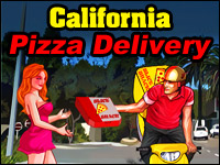 California Pizzabezorger Spel - Car Games