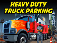Heavy Duty Truck Parking Game - Car Games