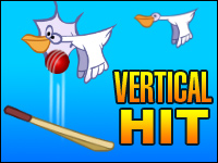 Vertical Hit Game - Cricket Games