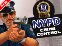 Controle Do Crime NYPD Game - Shooting Games