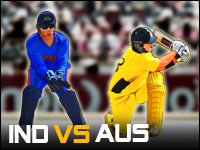India Vs Australië Spel - Cricket Games