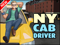 NY Taxichauffeur Spel - Car Games