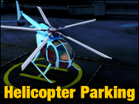 Helicopter Parking Game - Car Games