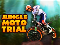 Jungle Moto Trial Game - Physics Games