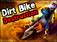 Dirt Bike Destruction Game - Physics Games