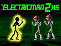 Electricman 2 Game - Action Games