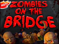 Zombies On The Bridge Game - Shooting Games