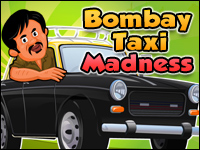 Bombay Taxi Madness Game - Car Games
