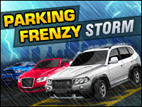 Parking Frenzy: Storm Game - Car Games