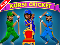 Kursi De Cricket Jeu - Cricket Games