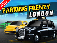 Parking Frenzy: London Game - Car Games