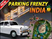 Parking Frenzy: India Game - Car Games