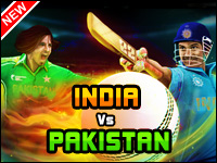 India Vs Pakistan Game - Cricket Games