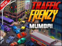 Traffic Frenzy: Mumbai Game - Car Games