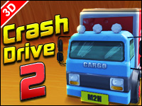 Crash Drive 2 Game - Car Games