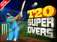 T20 Super-Overs Jogo - Cricket Games