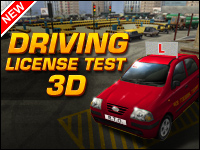 Driving License Test 3D Game - Car Games