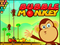 Bubble Monkey Game - Arcade Games