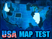 Usa Map Test Game - Puzzle Games