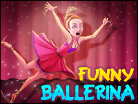 Funny Ballerina Game - Naughty Games