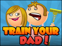 Train Your Dad Game - Physics Games